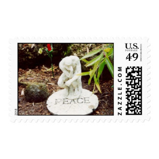 Think Peace Postage Stamp