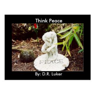 Think Peace Postcard