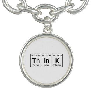 ThInK Periodic Table Element Word Chemistry Symbol Bracelets