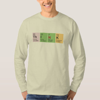 Think Periodic Table elements, Unisex Fit LS Tee