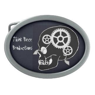 Think Piece Productions Belt Buckle Black