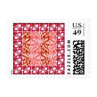 Think Pink Border Stamp