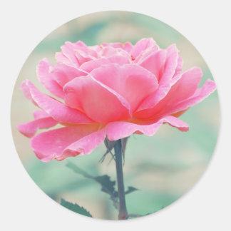 Think Pink Classic Round Sticker