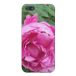 Think Pink Flower Case For iPhone 5