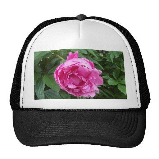 Think Pink Flower Trucker Hat
