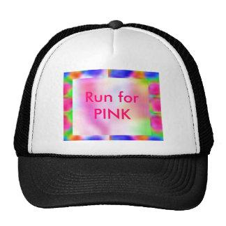 Think Pink - investigación de cáncer de la ayuda Gorro De Camionero
