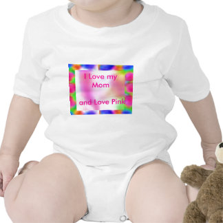 Think Pink - investigación de cáncer de la ayuda Trajes De Bebé
