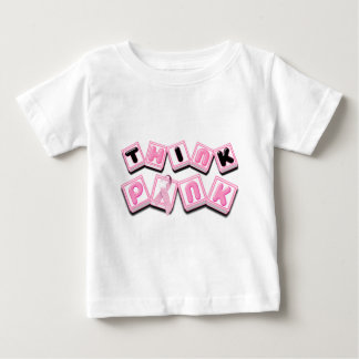 Think Pink.png Baby T-Shirt