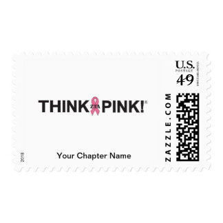 Think Pink Postage Stamps