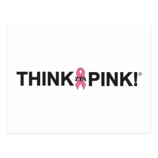 Think Pink Postcards