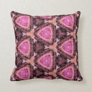 think pink series throw pillow