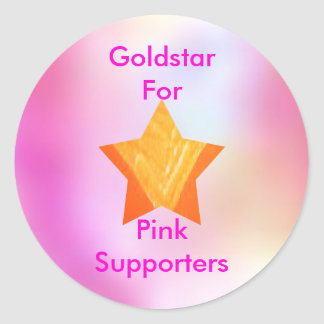 Think Pink - Support Cancer Research Sticker