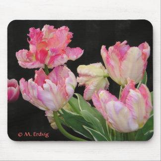 Think Pink Tulip Mousepad