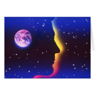 Think Planet Earth Greeting Card