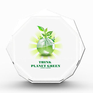 Think Planet Green (Green Leaves Planet Earth) Awards