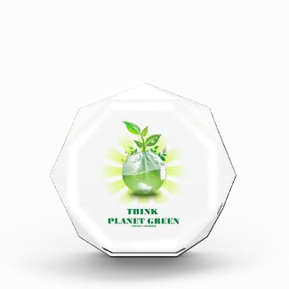 Think Planet Green (Green Leaves Planet Earth) Award