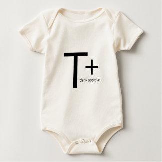 Think Positive Baby Bodysuit