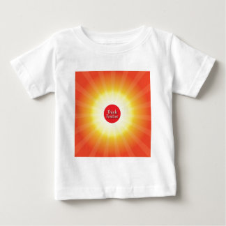 Think Positive Baby T-Shirt
