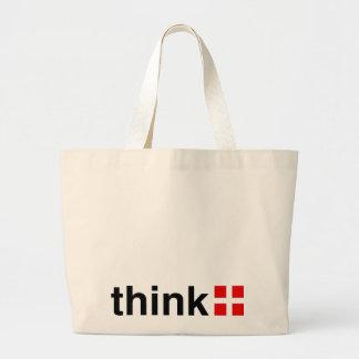 Think Positive Canvas Bag