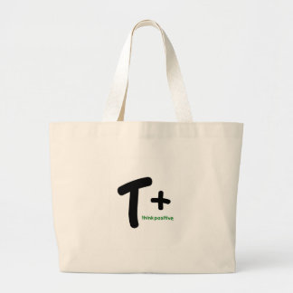 Think Positive! Tote Bags