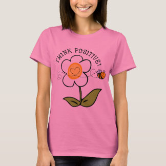 Think Positive Bee T-Shirt