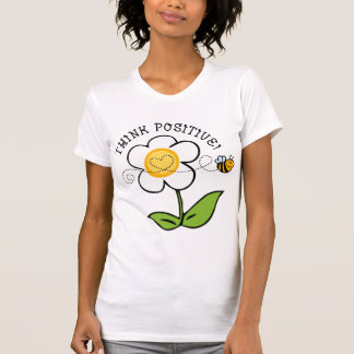 Think Positive Bee Tee Shirts