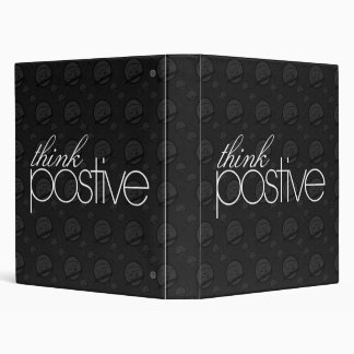 Think Positive Binder