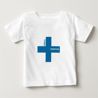Think Positive (blue edition) Baby T-Shirt