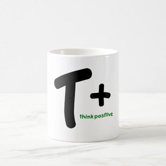 Think Positive! Coffee Mug