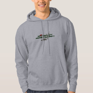 Think Positive!  I'm a Mighty Money Magnet! Hoodie