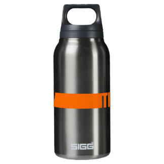 Think positive insulated water bottle