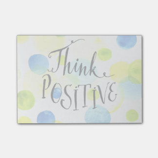 Think Positive Post-it Notes