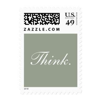 Think. Postage