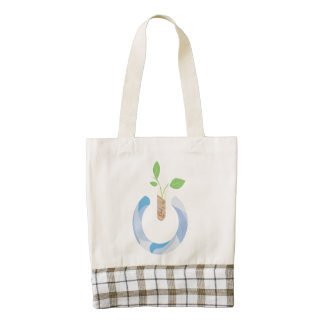 Think Power Zazzle HEART Tote Bag