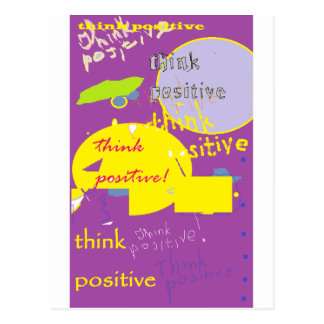 Think Pozz Card Postcard