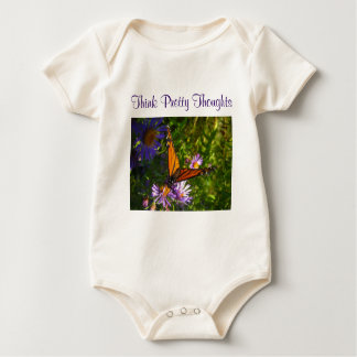 Think Pretty Thoughts infant onsie creeper