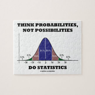 Think Probabilities, Not Possibilities Statistics Puzzle