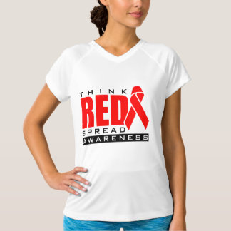 Think Red.... Spread Awareness Tee Shirt