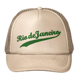 Think Rio de Janeiro Trucker Hats
