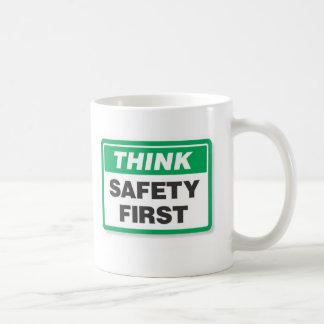 Think Safety Coffee Mugs