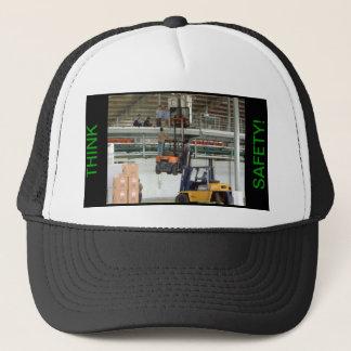 THINK SAFETY! TRUCKER HAT