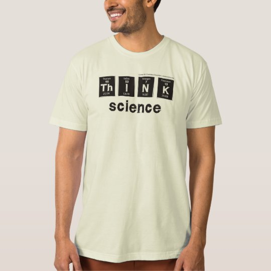 THINK Science t-shirt