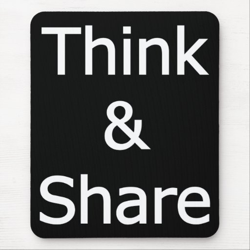 Think_&_Share Mousepad