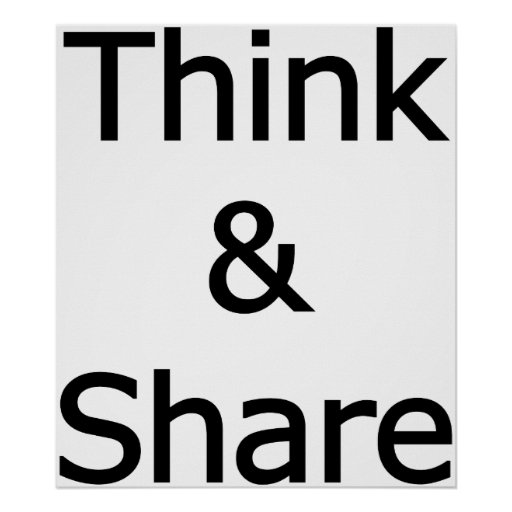 Think_&_Share Poster