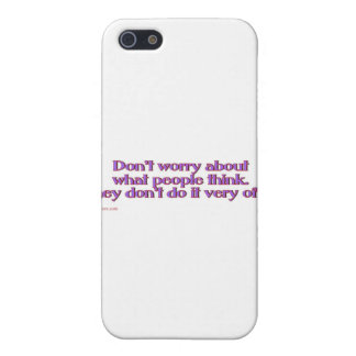 think_slap iPhone SE/5/5s case