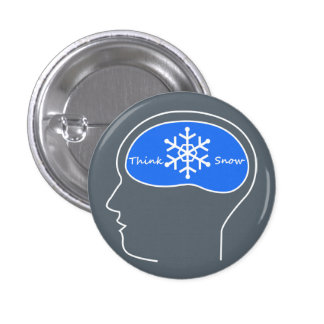 Think Snow! button
