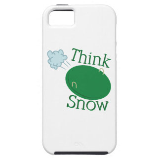 Think Snow Disc iPhone 5 Covers