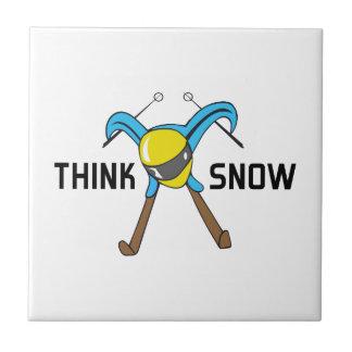 THINK SNOW TILES