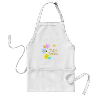 Think Spring Adult Apron