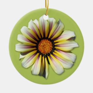 Think Spring Floral Fern Ceramic Ornament
